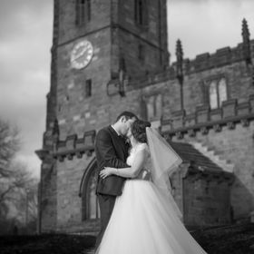 Rothwell Parish Church, Photographed my neighbours wedding as a favour!