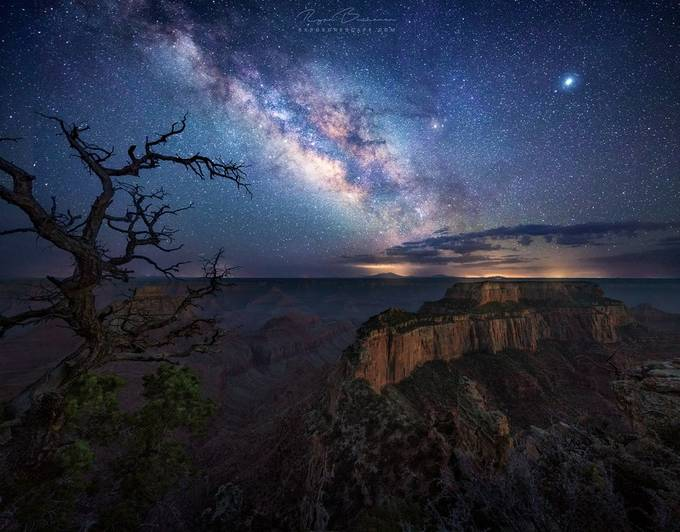 Cosmic Canyon by ryanbuchanan - Capture The Milky Way Photo Contest