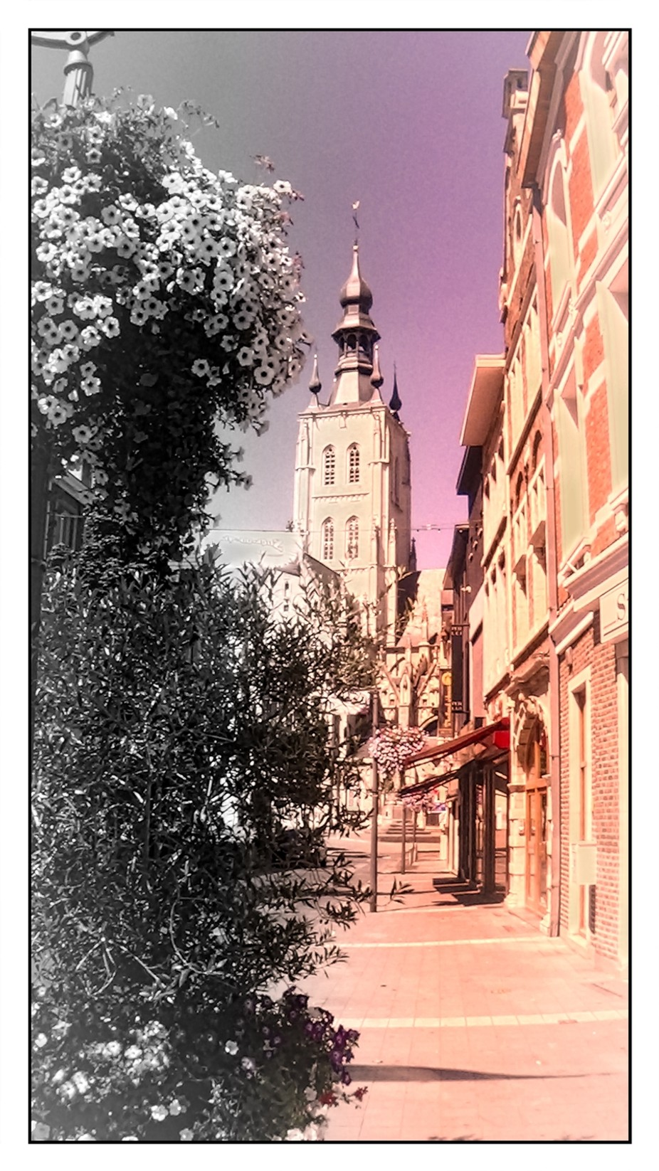 See how beautiful my City Tienen looks like Greetings Theo Herbots