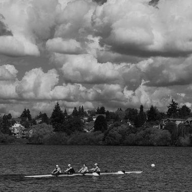 Kayak Team on Green Lake