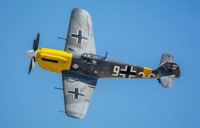 Spanish built Hispano HA.1112 Buchon