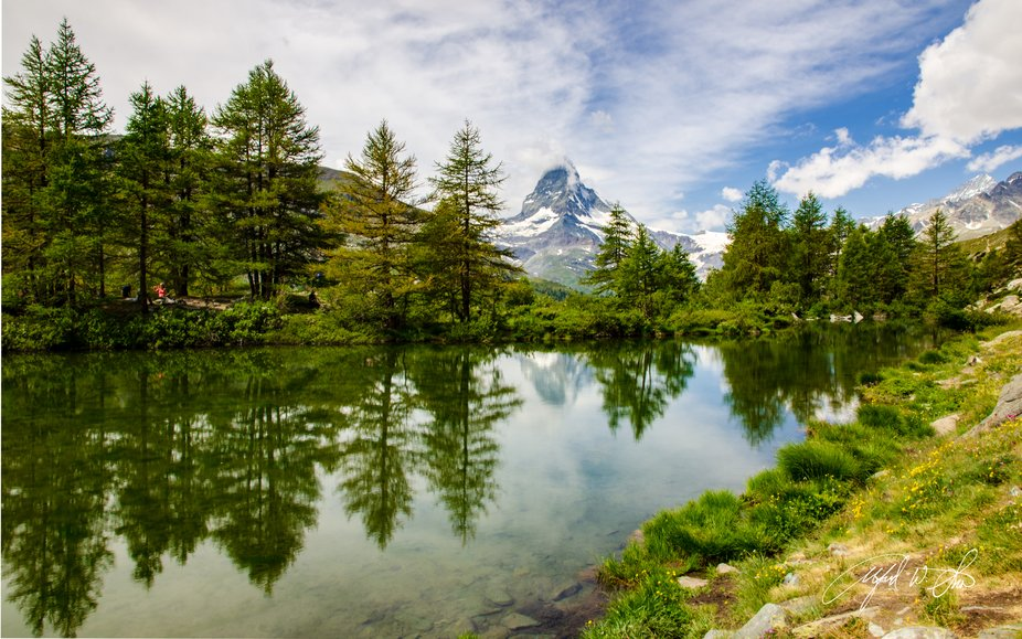 High above the town of Zermatt, Switzerland you are afforded an opportunity for introspection as ...
