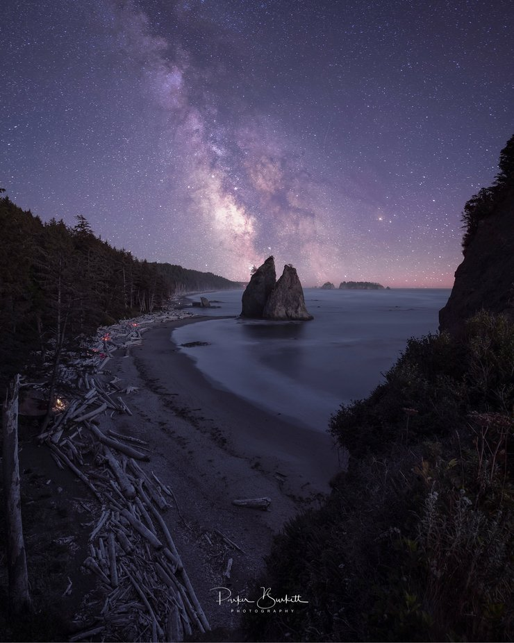 A night on the WA coast... by sethburkett - Covers Photo Contest Vol 48