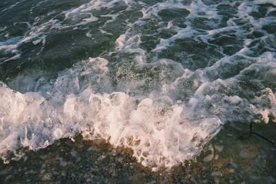 Golden Hour Waves