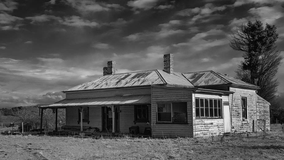 Old home at Longford, Tasmania