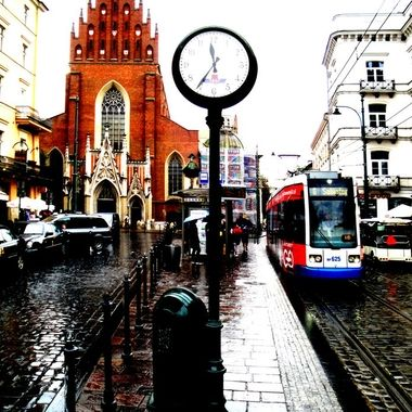 Architecture and life of Krakow - Beautiful city in Poland (118)
