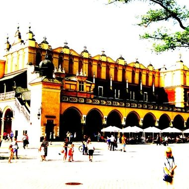 Architecture and life of Krakow - Beautiful city in Poland (83)