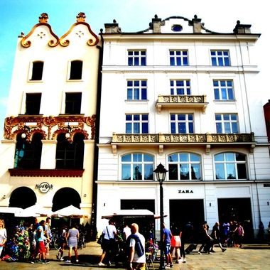 Architecture and life of Krakow - Beautiful city in Poland (79)
