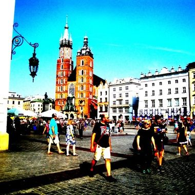 Architecture and life of Krakow - Beautiful city in Poland (18)