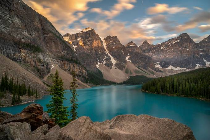 Lake Moraine by RalfvonSamson - Monthly Pro Photo Contest Vol 44