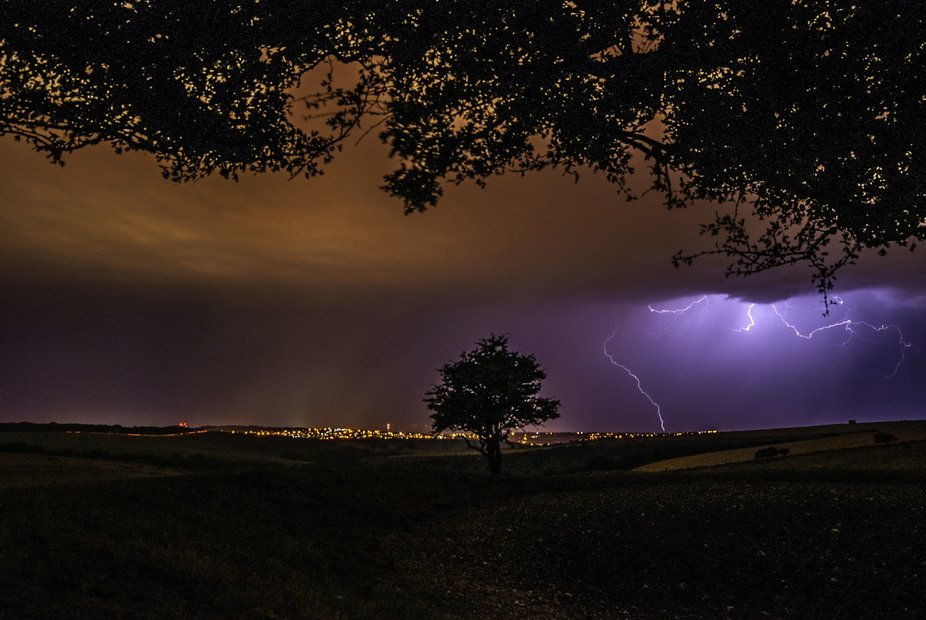 I had one mission last night, capture lightning. I reckon I did just that.  Sat on top of ditchli...