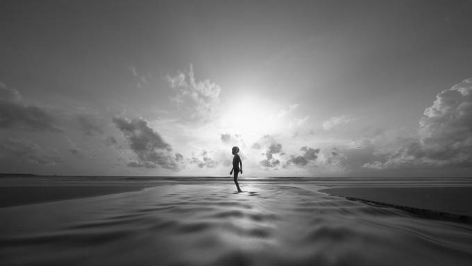 walk away by PoloD - Our World In Black And White Photo Contest