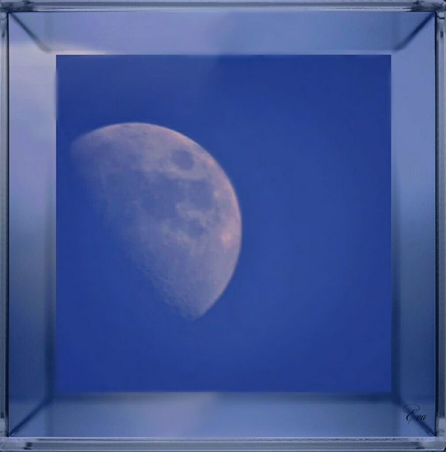 Mein erstes Mondbild mit einem 500ter