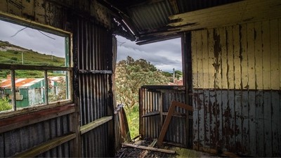 Disused building, Fort Dunree, Donegal, Ireland