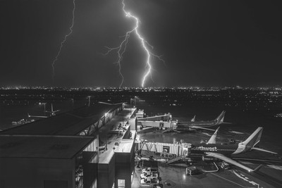 Airplanes and Lightning