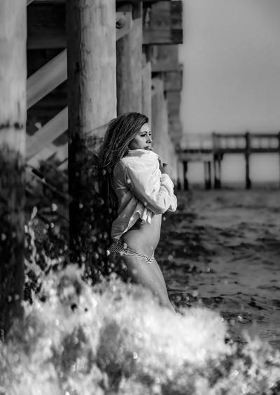 She makes a splash