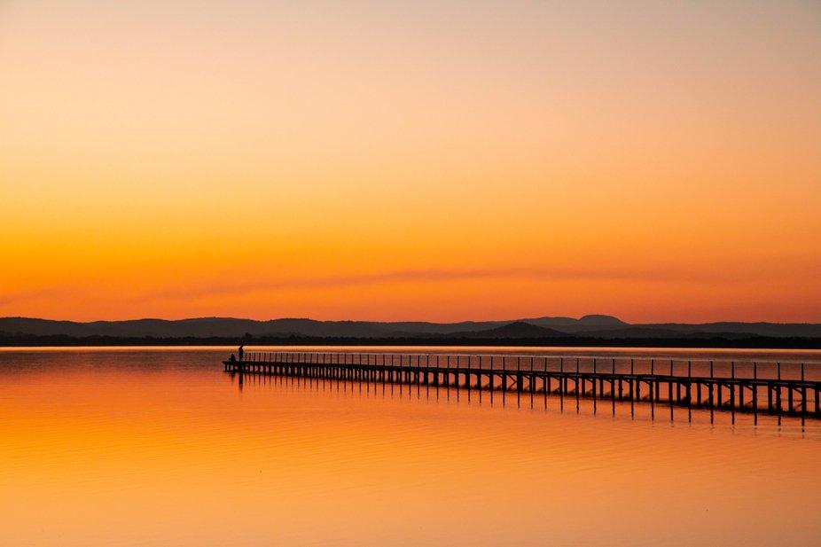 Long Jetty at sunset