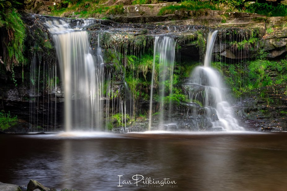 the lovely Lumb Falls, Pecket well, Calderdale