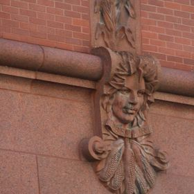 """The Watchers - Harvest Goddess in Terracotta"" I love this watcher she reminds me of Mother Earth.  Many of these are designed after go..."