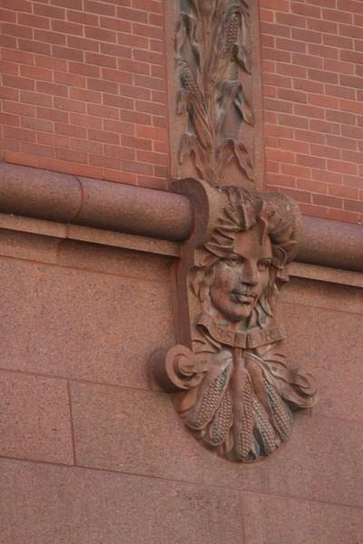 The Watchers - Harvest Goddess in Terracotta