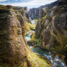 New edit of this beautiful canyon in Iceland with the most difficult name ever :P