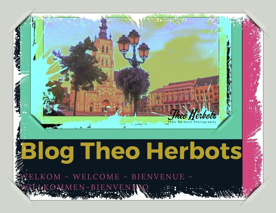 I made this to place on my Blog https://groetenuittienen.blog/ as welcome to my new visitors. Sincerely Theo-Herbots