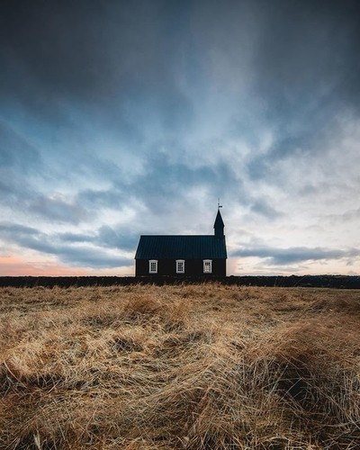 Throwback Thursday to that Church in Iceland last February. Inspired by @mad