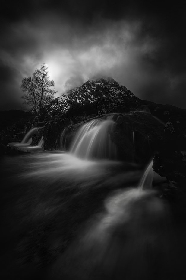 Etive Mor by swqaz - Our World In Black And White Photo Contest