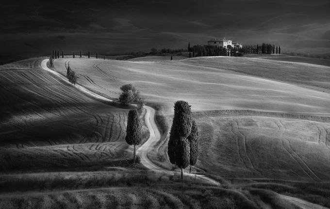 Triangle by swqaz - Our World In Black And White Photo Contest