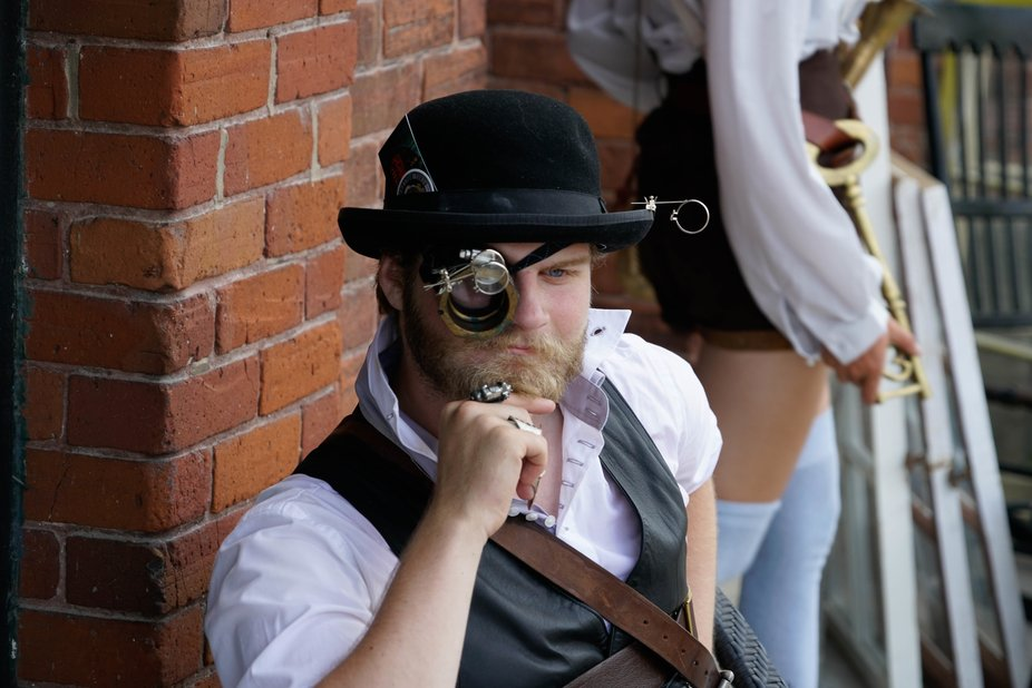 Annual Steam Punk Festival in Coldwater, Ontario.
