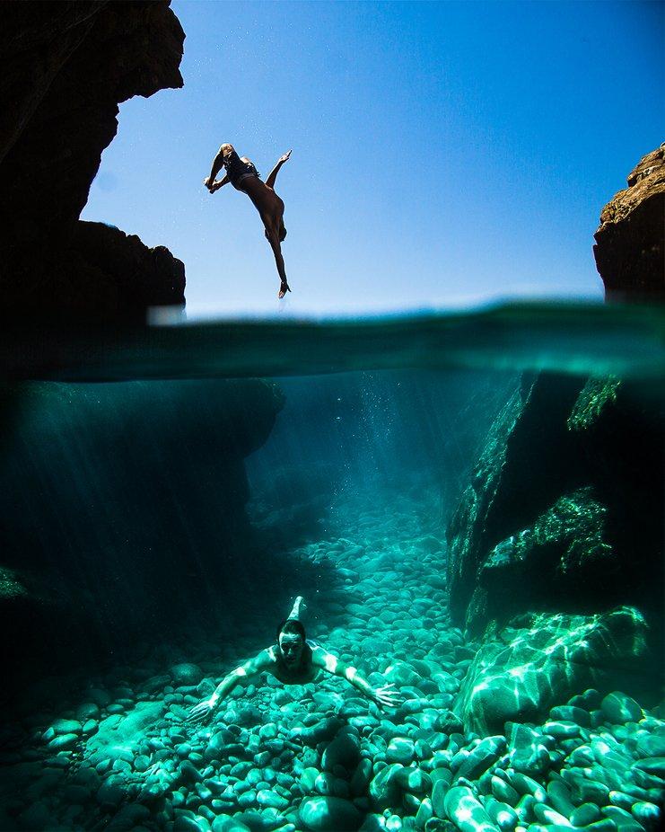 Summer line by adelmomassola - Levitation Art Photo Contest