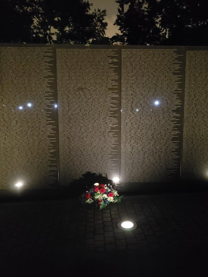Flowers of remembrance