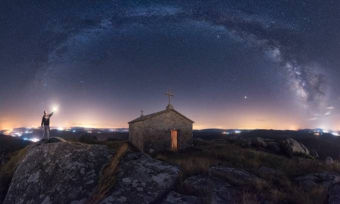 Sacred Lights by Juliocastropardo - Night Wonders Photo Contest