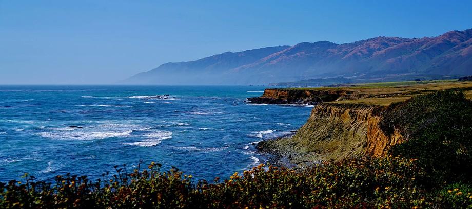 Cliffs at Big Sur