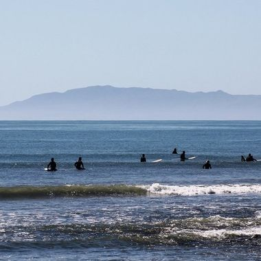 surfers in wait