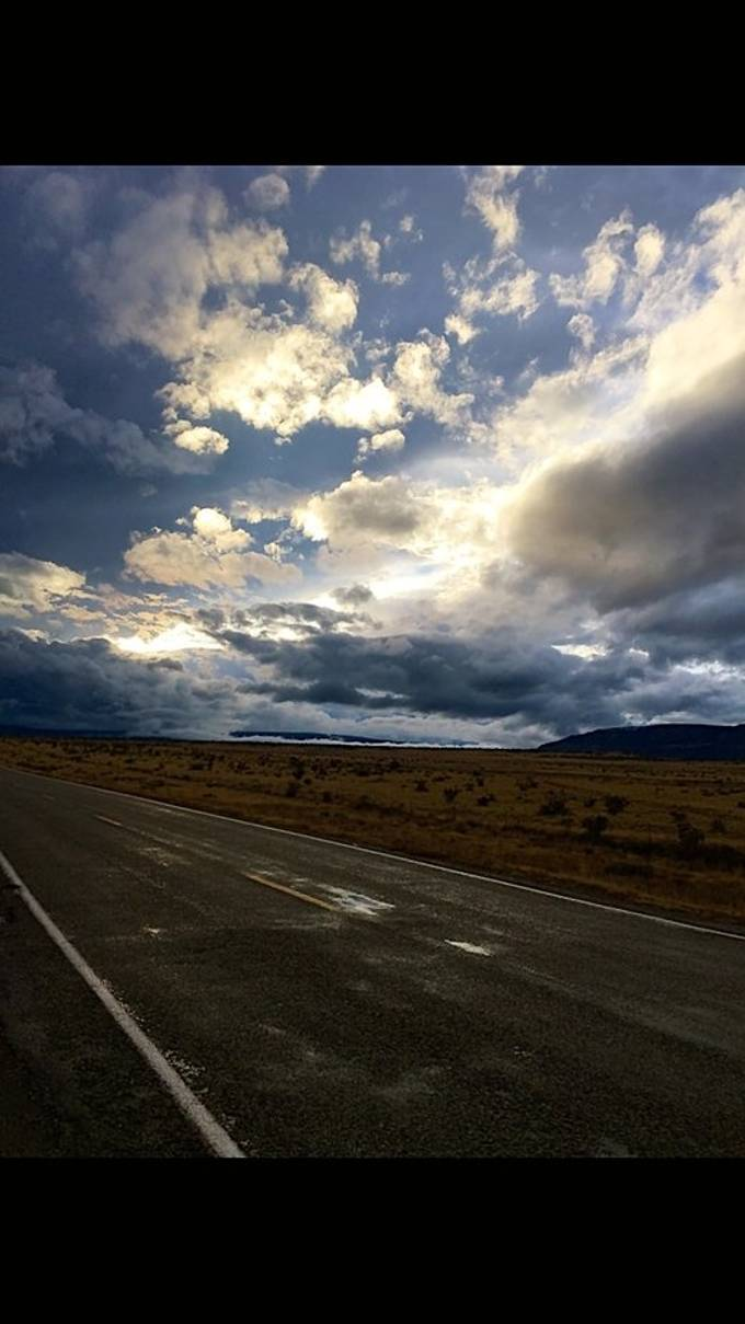 On the road to Coyote, NM.