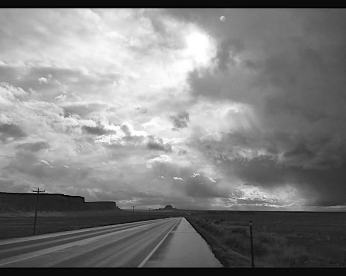 somewhere between cortez, CO and farmington, NM.