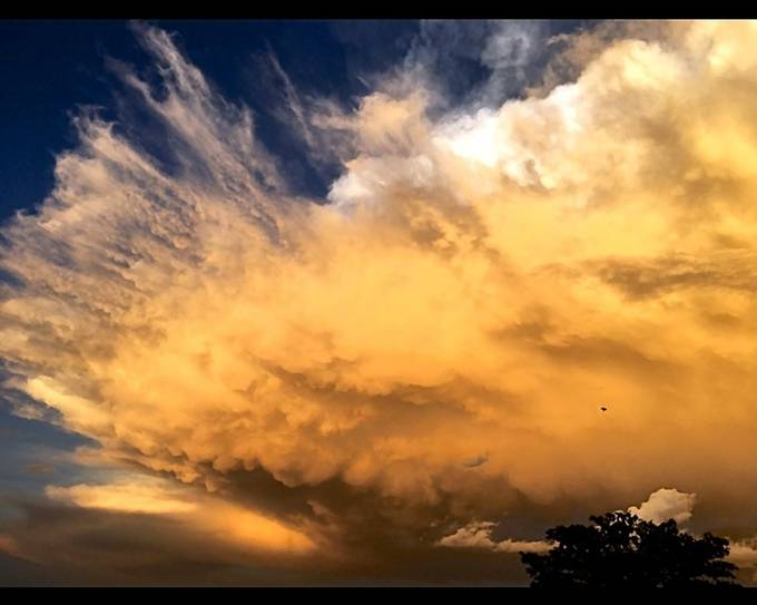 Wicked cloud formation.