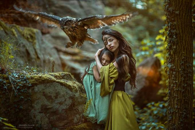 Under the wings / Mother protection... by MarketaNovak - Social Exposure Photo Contest Vol 17