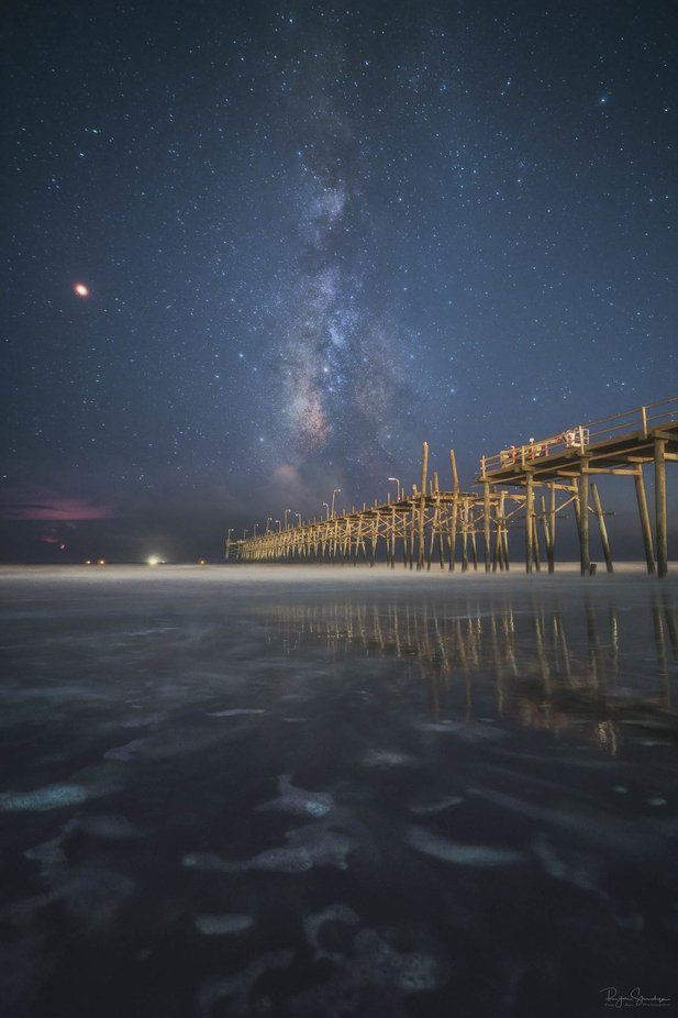 Storms over the Sea by ryanshanahan - Night Wonders Photo Contest