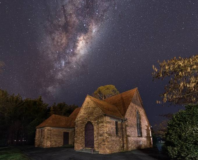 Midnight Mass by Mil8ant - Capture The Milky Way Photo Contest