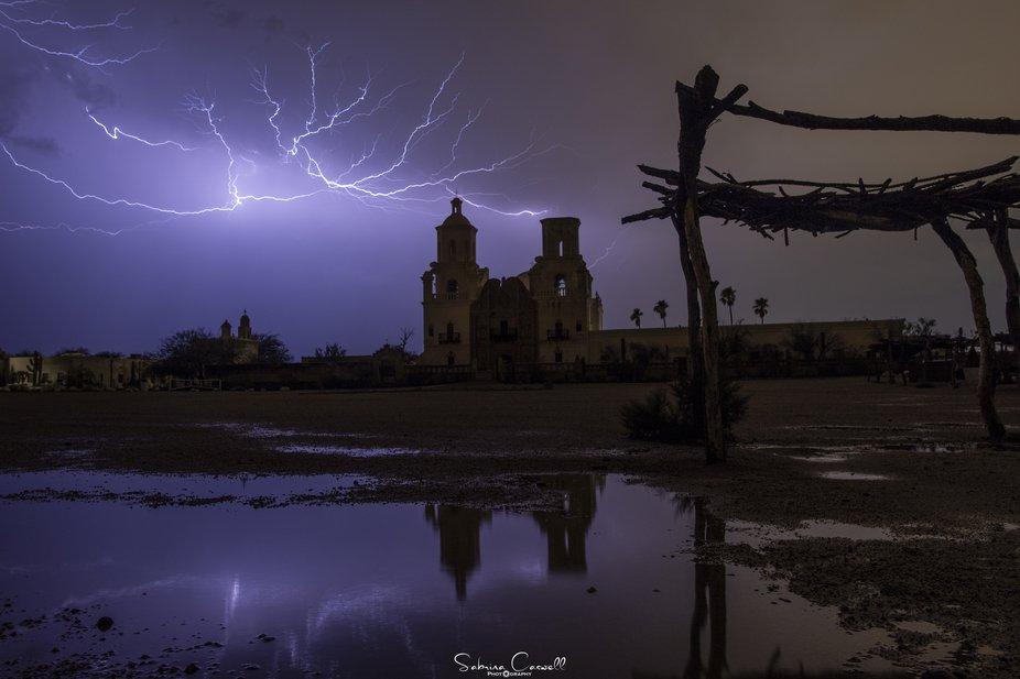 San Xavier Reflections