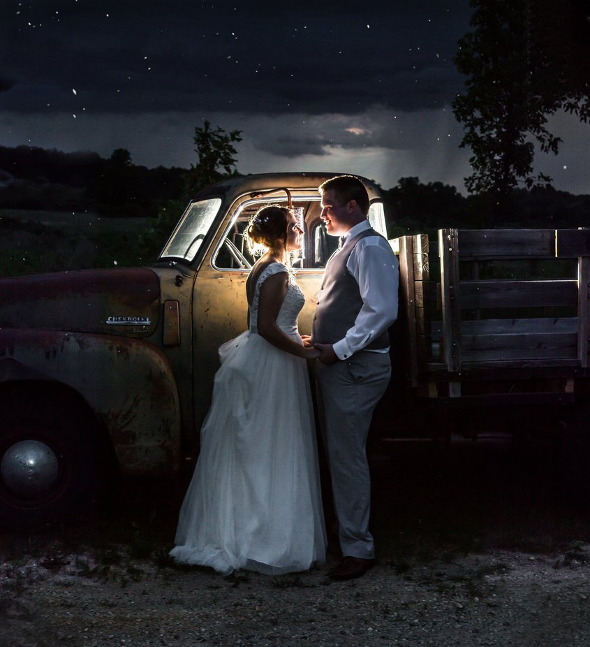 Pickup Wedding by kylere - All About The Wedding Photo Contest
