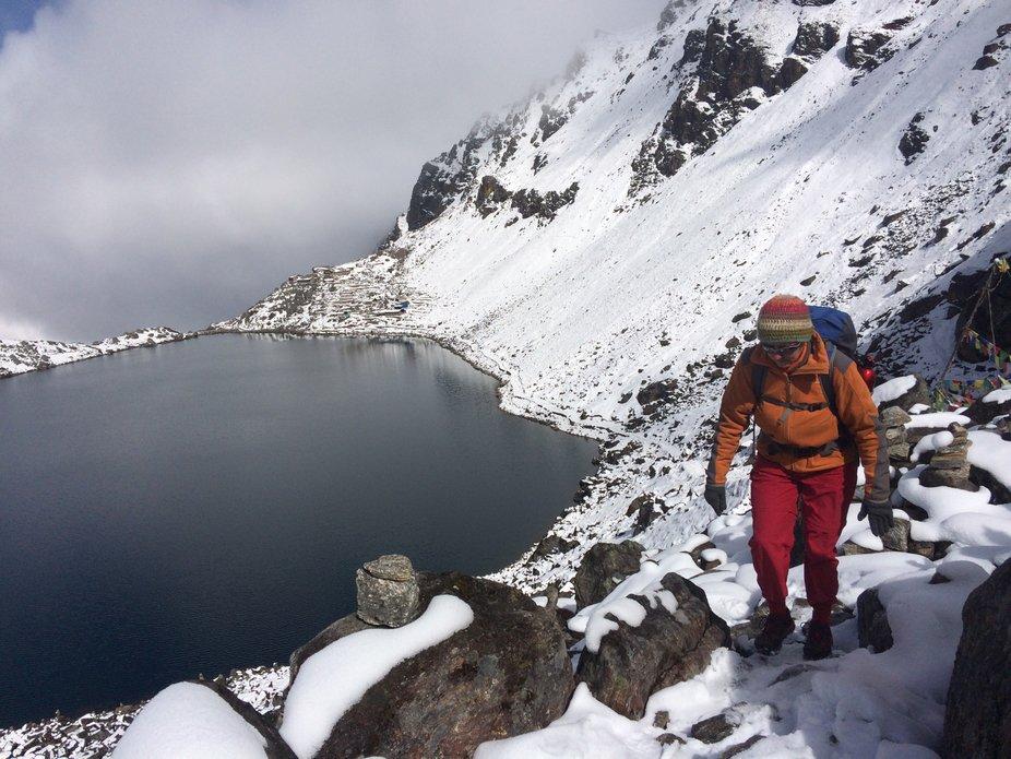 Hiking in Nepal: Gosaikunda trek. Breathhaking