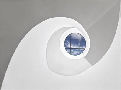Spiral staircase at Leica
