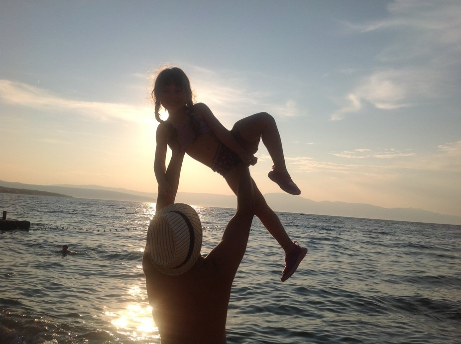 To celebrate a return to normal life after going through hell, my daughter and I celebrated in Cr...