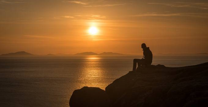 Waiting for sunset by adsmiths - Sitting In Nature Photo Contest