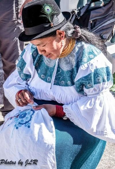 Indigenous Woman, Ecuador