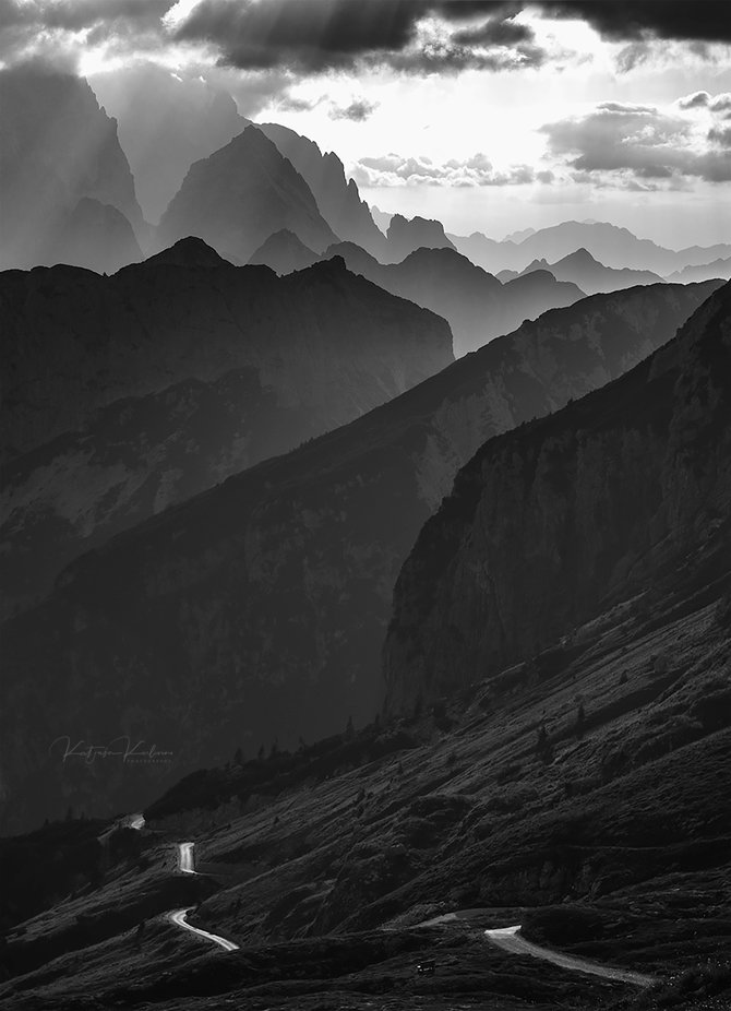 Road to dreams by Katjusa_Karlovini - Our World In Black And White Photo Contest