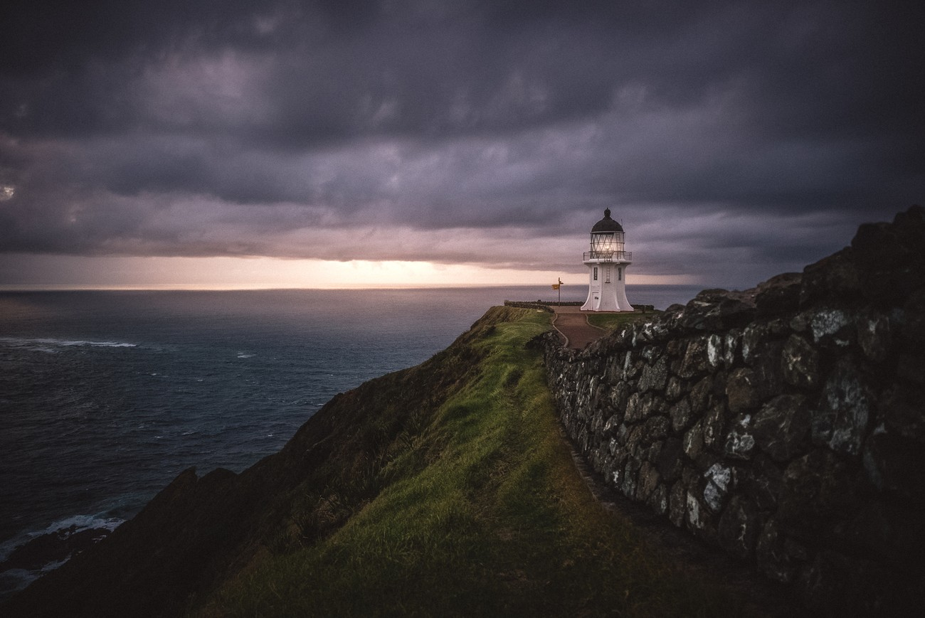Cape Reinga is the northernmost tip of New Zealand's north island.